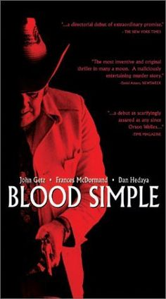 Blood Simple. (1984) Film Poster