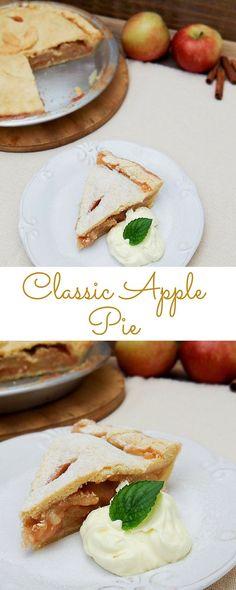 Classic Apple Pie   Travel Cook Tell