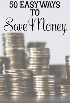 50 Easy Ways to Save Money. An incredibly easy list of ways to save money.