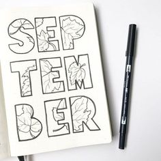Hello, September! #bulletjournal