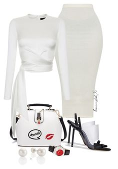 """#19"" by stylewithlammybel-1 ❤ liked on Polyvore featuring Rasario, Alexander Wang and Bertha"