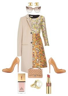 """""""Job Day 420"""" by minigiulia ❤ liked on Polyvore featuring Marni, Mulberry, Chanel, Tiffany & Co., Prada, Yves Saint Laurent, women's clothing, women, female and woman"""