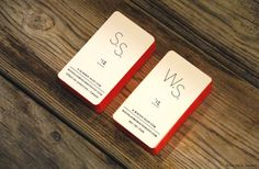 creative and cool business cards
