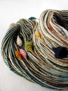 Fey – Corespun Bulky with Beehives (141 yards)