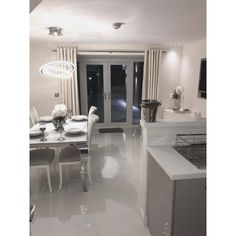 Extreme White Polished Porcelain Floor Tile - Floor Tiles from Tile Mountain Living Room Flooring, Kitchen Flooring, Open Space Living, Living Spaces, Large Format Tile, Best Floor Tiles, White Tiles, Contemporary Interior, Porcelain Floor