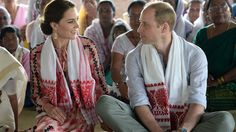William and Kate's Cutest Moments: Today is William and Kate's anniversary. It's already been 5 years! Enjoy these cute moments between the royal couple.