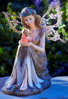 fairy garden statue gifts for mom's birthday
