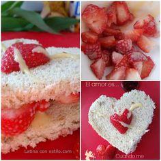 recta dia san valentin para desayuno