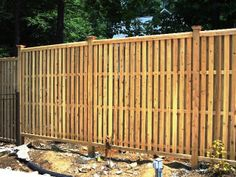 Shadowboard Wood Semi-Privacy Fence
