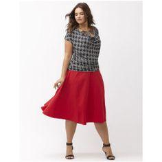 Circle ponte skirt - Lane Bryant