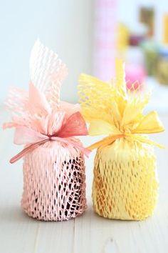 「瓶のラッピング」お菓子教室SweetRibbonが提案する簡単かわいいお菓子ラッピング | お菓子・パンのレシピや作り方【corecle*コレクル】