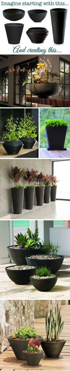 Enjoy Urbilis' freshly picked planter designs in your home, office, or next design project. These modern planters are available in a breadth of forms, finishes, & colors! Indoor Garden, Indoor Plants, Home And Garden, Potted Plants, Modern Planters, Diy Planters, Container Plants, Container Gardening, Do It Yourself Wedding