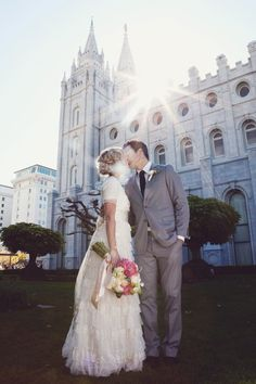Love her dress. Want it! Beautiful picture!