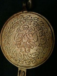 Vintage Nordicware krumkake iron.
