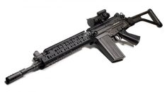 FN FAL with Folding Stock and VLTOR handguard. 7.62x51 NATO