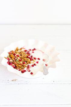 Stovetop Maple Pumpkin Granola {vegan, gluten free} | Sprinkle with Salt