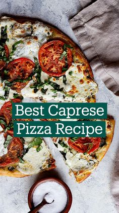 Flatbread Pizza, Pizza Pizza, Italian Foods, Italian Recipes, Pizza Recipes, New Recipes, Caprese Pizza, Pasta, Breakfast Pizza