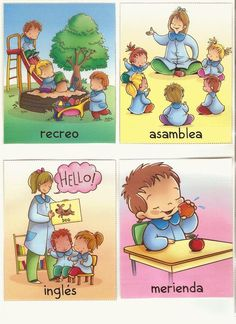 Billedresultat for el tiempo asamblea infantil ingles