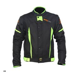 69.00$  Watch now - http://alipax.worldwells.pw/go.php?t=32670470301 - Men's Summer Motorcycle Jacket Motocross Racing Reflective Safety Coat Sportswear Protective Gear