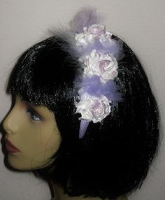 Dressy Spring Flower Headband For Girls And by SugarBearHair