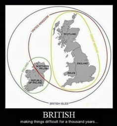 IM OFFICIALLY BRITISH. why didn't I bother learning geography
