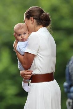 Princess Victoria with Prince Oscar.