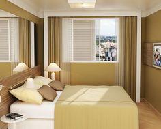 Ideias para decorar quartos pequenos