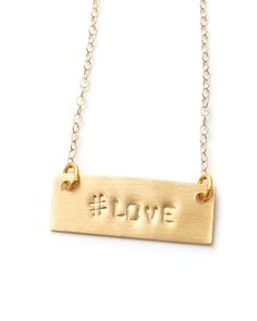 Hashtag Necklace #shelby @Shelby Lewis