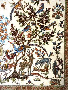 Signed Silk Tree of Life Qum Qom Ghom Persian Exquisite Rug #Persian