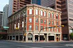 The Calgary Chamber of Commerce building is located at the corner of 6th Avenue S.W. and Centre Street, across from the new Bow tower.