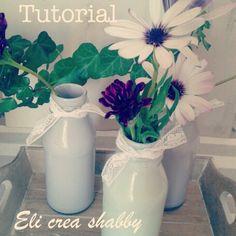 Tutorial on my blog ( elicreashabby.blogspot.it )