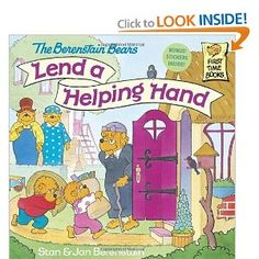 The Berenstain Bears Lend a Helping Hand: Stan Berenstain, Jan Berenstain: 9780679889564: Amazon.com: Books