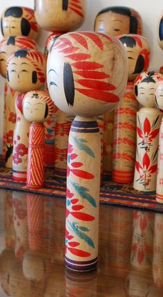 Vintage kokeshi doll love these dolls