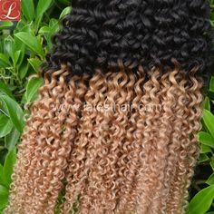 #1b/27,black blonde ombre hair weaves,curly wave two tone human hair,shop from www.latesthair.com/ Hair Weaves, Hair Weft, Indian Hairstyles, Weave Hairstyles, Black And Blonde Ombre, Ombre Hair Weave, Ombre Human Hair Extensions, Curly Hair Styles, Natural Hair Styles