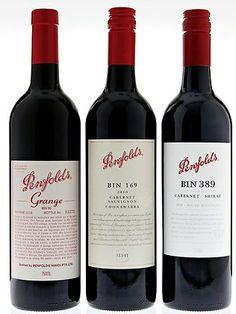 One of Hugh Jackman's favorite wine labels.  |  Penfold's Grange, Australia