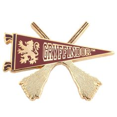 Gryffindor Quidditch Pennant Pin from The Wizarding World Of Harry Potter