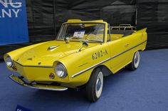 1963 Amphicar 700  We purchase any Amphicar's from 1961 to 1968. Any Condition.  Please call Alex Manos : 310-975-0272