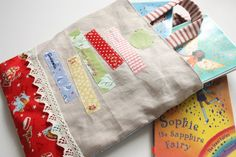 Cherry Heart: School sewing ~ I Love Reading Bag
