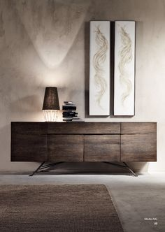 Luxury Modern Italian Designer Oak Sideboard at Juliettes Interiors. Entryway Furniture, Entryway Decor, Modern Furniture, Furniture Design, Entryway Ideas, Lobby Furniture, Entryway Lighting, Oak Sideboard, Modern Sideboard
