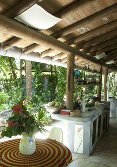 Playa Manglares: breakfast table