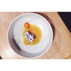 ::. Huître coque bouillon dashi pamplemousse signé @osanchaise .:: by plus_une_miette instagramers I like