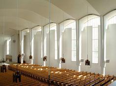 Seinäjoki Lakeuden Risti Church by Alvar Aalto, Seinäjoki, Finland - Modern Church, Religious Architecture, Famous Architects, Cathedral Church, Alvar Aalto, Sustainable Architecture, Urban Planning, Flooring, Building