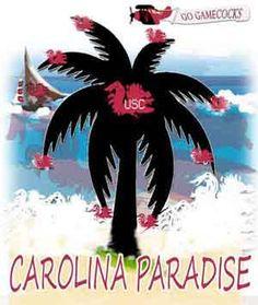 Carolina Paradise Tee Shirt by dswygert on Etsy