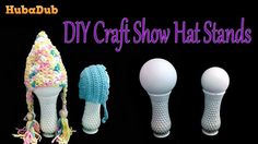 DIY Hat Stand Display for Craft Shows