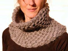 Knit 1 LA: the Brioche Honeycomb Cowl
