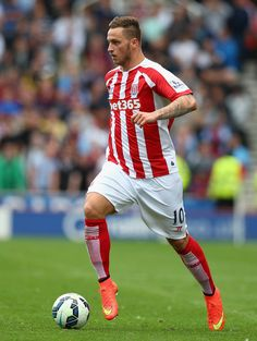 Marko Arnautovic of Stoke City