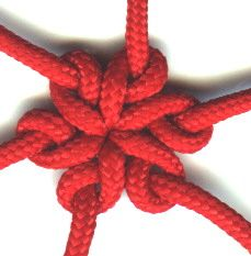 The first knot book I bought over 25 years ago was The Marlinspike Sailor by Hervey Garrett Smith. It had the directions for the Star Knot. I tried to tye it and after about a year I finally gave up. After another year I finally tyed my first Star Knot...