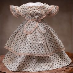 French bebe Clothing. Antique dolls at Respectfulbear.com