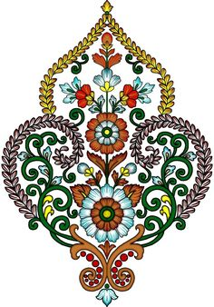 Islamic Motifs, Islamic Art, Paisley Art, Baroque Pattern, Flower Clipart, Album Design, Clip Art, Shoulder Bag, Embroidery