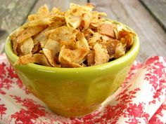 "Curried Coconut Flake ""Chips"
